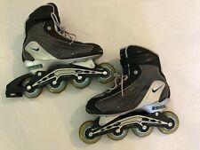 Nike Air Max N-Dorfin 4 Rollerblades In Line Skates Womens Size 9 Grey Black