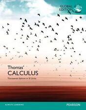 Thomas' Calculus (13th Edition) by Thomas, George B., Jr./ Weir (Global Edition)