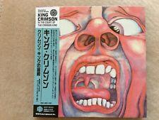 KING CRIMSON-In The Court Of The Crimson King-69/2006 CD Japan MINI LP
