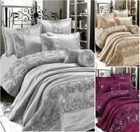 GIGI EMBROIDERED 100% Polyester Duvet Quilt Cover Set, Bed Set Or BedSpread C/C