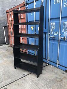 Ikea  Leksvik Bookcase Black Stain good used item.