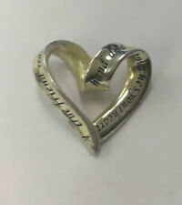 "Sterling Silver 925 ""Friend"" Heart Pendant VGH14"