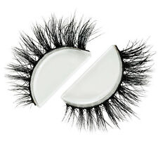 Siberian Real Mink Eyelashes Strip Lashes - DOHA (For Lilly)