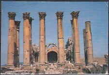 Jordanien Jordan used Post Card Postkarte Temple of Artemis Jarash [cm534]