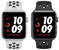 Apple Watch Series 3 Nike+ Plus Aluminum 42MM Silver Space Gray | Good B-Grade