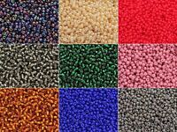 MORE COLORS 20g 2mm Czech Seed Beads 10/0 Preciosa Ornela Rocailles size 10