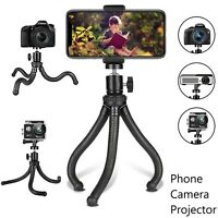 """Flexible Cell Phone Camera Projector Mounting Tripod Stand Universal Holder 8.5"""""""