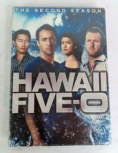 Hawaii Five-0: The Second Season (DVD, 2012, 6-Disc Set) New Sealed