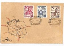VV51 1954 Poland *LOT* Warsaw Cover Samwells-Covers