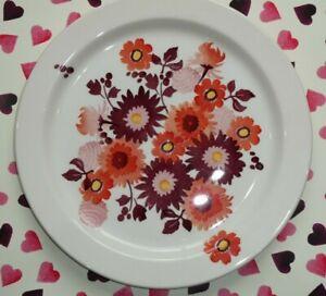 Emma Bridgewater 13in Large Cake Plate Platter Orange Dahlia