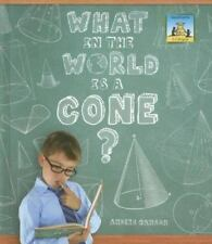 What in the World Is a Cone? (3-D Shapes)-ExLibrary