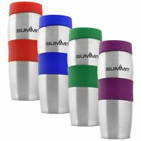 Summit Thermal Travel Coffee Mug Double Walled 380ml Leak-proof Insulated Flask