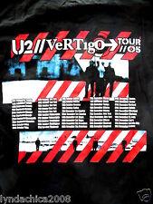 U2 Vertigo 2005 Concert Shirt (Size Large)