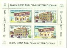 EUROPA CEPT - NORTHERN CYPRUS 1990 Post Offices block