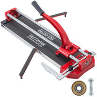 """31"""" Manual Tile Cutter Cutting Machine 800mm Adjustable Laser Guide Industrial"""