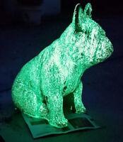 YG500L 25g GRÜN Leuchtpigment Glühpulver stark f. Nachtleuchtfarbe bastel Farbe