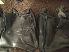 NBC CBRN ABC HAZMAT OVERBOOT Chemical Biological Protective Safety Boot PREPPER