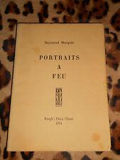 PORTRAITS A FEU - Raymond Marquès - Plein Chant, 1974