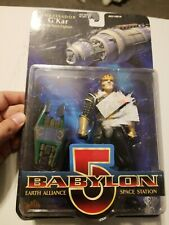 NEW Babylon 5 Ambassador G'Kar with Narn Fighter Exclusive Premiere 1997 WB Toy