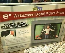 Digital Picture Frame 8 Inch by Giinii GN-801W Widescreen New in Box