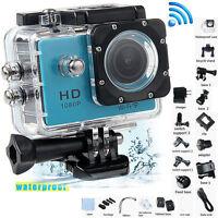 SJ4000 Full HD 12MP 1080P WiFi Helmet Sports Action Waterproof Video Camera New