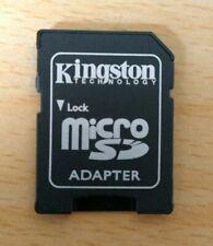 Kingston MICRO SD SDHC MEMORY CARD ADAPTOR ADAPTER CONVERTER - UK STOCK