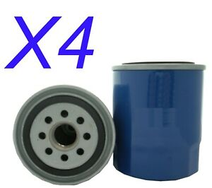 X4 Oil Filter fits Z148 for Subaru Outback 2.0 D AWD (BR) 2014 - 2018