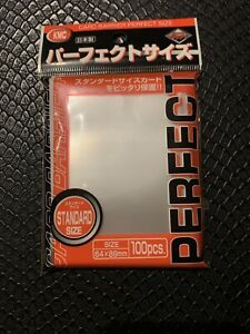 MTG Magic Gathering Pokemon 30x KMC Perfect Hard Fit 50 Count Size Sleeves