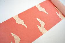 UN-USED JINKEN KIMONO BOLT:Cream & Red Same-Komon / Chrysanthemum@YR56