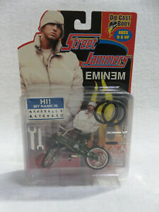 EMINEM Street Jammers Die Cast Bike - Hi! My Name is Mashall B. Mathers III NOC!