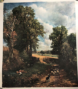 NATIONAL GALLERY John Constable The Cornfield Poster Print Unframed Picture