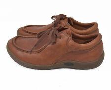 Havana Joe Men's Sz 44 Brown Leather Lace Up Comfort Walking Casual Shoes