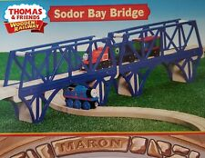 THOMAS & FRIENDS WOODEN RAILWAY ~ SODOR BAY BRIDGE ~ 2002 ABSOLUTELY MINT IN BOX