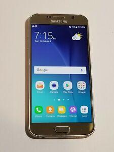 Samsung Galaxy S6 - G920R4 - Silver-  USCellular Unlocked- ScrnBrn -OC04