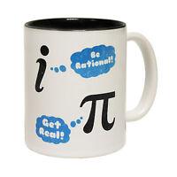 Be Rational Get Real Novelty Geek Nerd Maths Teacher MUG birthday funny gift