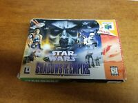 Star Wars: Shadows of the Empire (64, 1996)(Tested)