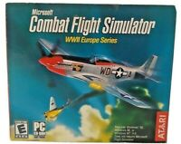 Video Game PC Microsoft Combat Flight Simulator WWII Europe Series