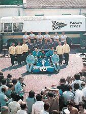 Francois Cevert & Jackie Stewart Tyrell F1 Team Portrait 1971 Photograph
