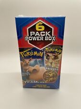 Pokemon Mystery Power Box 6 Pack FACTORY SEALED! EVOLUTIONS Team UP & MORE!