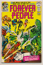 FOREVER PEOPLE #7 VF Jack Kirby, Super Cycle, DC Comics 1972