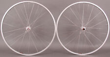 Sun CR18 700 Silver Wheelset Wheels 126mm 5 6 7 Speed Freewheel fit Vintage Bike