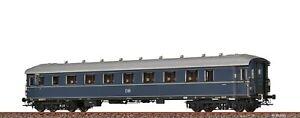 """Brawa 46412 Schnellzugwagen B4üe-28/ 52 """"F-Zugwagen"""" De, AC-Achsen  #NEU in OVP#"""