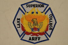 Canadian Lake Superior College ARFF Aircraft Rescue Fire Fighting Patch