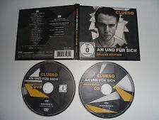 CD + DVD CLUESO And Und Fur Für Sich DELUXE EDITION German Rap Hip Hop Rock
