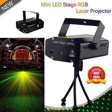 Sonido Activado LED RGB Disco Dj Luz Láser Estroboscópica Proyector Fiesta Club