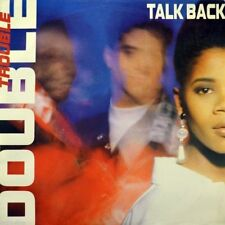 """7"""" Double Trouble feat. Janette Sewell Talk Back Desire 45rpm Hip-House ORIG. 1990"""