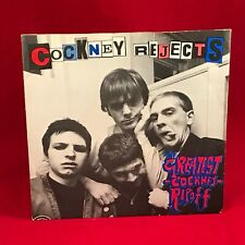 "COCKNEY REJECTS The Greatest Cockney Ripoff 1980 UK 7"" vinyl Single EXCELLENT #"