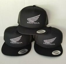 NEW Honda wing Trucker Hat Cap Mesh Adjustable Embroidered Style Racing Wing