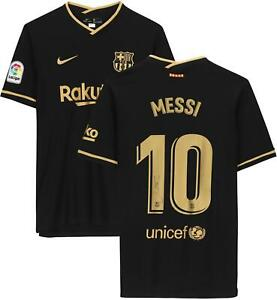 Lionel Messi Barcelona Autographed 2020-2021 Away Jersey