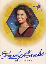 STAR TREK: 35th Anniversary - Emaily Banks 'Yeoman Barrows' A14 Autograph Card